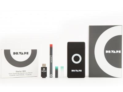 販売開始2ヶ月で10,000本*を突破 新世代の電子タバコ 『DR.VAPE』本体とフレーバーカートリッジがセットになったスターターキットを新発売!