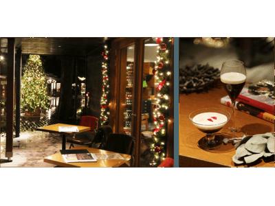 丸山珈琲ハルニレテラス店がクリスマスムードを盛り上げるバーに変貌!コーヒーを使用したクリスマス限定メニューも登場「 Bar MARUYAMA 」12月22日(土)より開催
