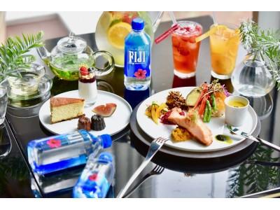 インスタ映えするボトルが人気のフィジーウォーター ダイエット美容家 本島彩帆里さんが教える「温活ランチョンセミナー」を実施!