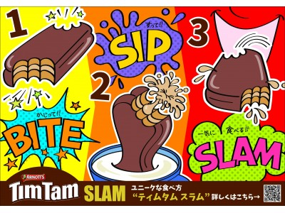 "Tim Tam""SLAM""専用ティムタム!?"