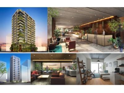 日本橋浜町の新しいシンボル、複合型ホテルとソーシャルアパートメントがオープン! 「HAMACHO HOTEL&APARTMENTS」、「WAVES日本橋浜町」がいよいよ開業へ