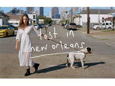 """オールセインツ、グローバルクリエイティブキャンペーン""""Lost in New Orleans""""をローンチ"""
