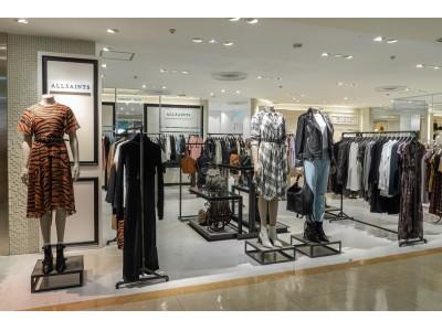 オールセインツが東武百貨店池袋店にウィメンズストアをオープン!