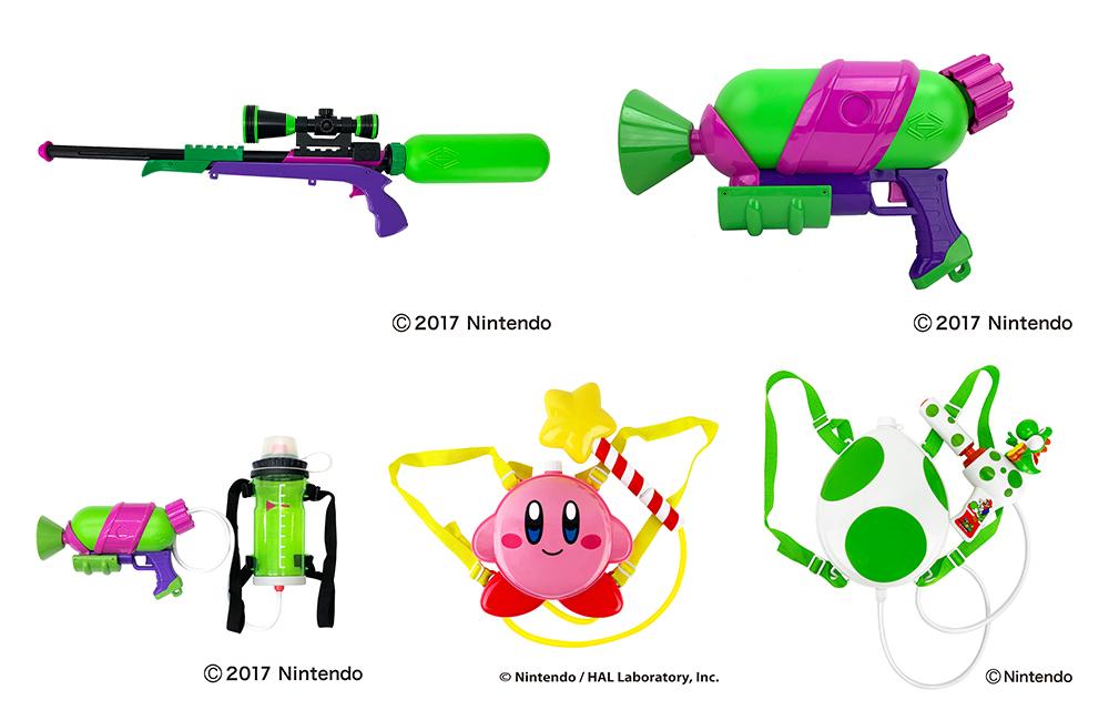 ゲームアイテムやキャラクターで水遊びあの人気ゲームシリーズをモチーフにした水鉄砲を6月上旬に販売開始!
