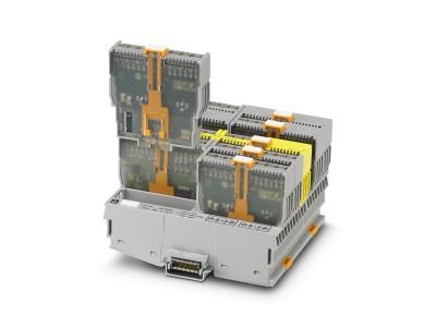 高密度なPush-in千鳥配列で設置幅を約25%削減*し、制御盤内の省スペースに貢献するI/Oシステム日本発売