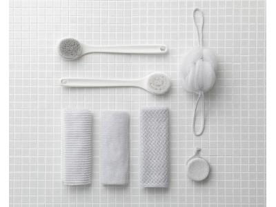 """浴室に置いていても""""きれい""""な、ボディケア用品「きれいに暮らす。」が新発売。"""