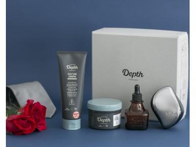 バレンタインギフトに贈るスカルプケア習慣 Depth限定セット発売-Depth Series × TANGLE TEEZER-