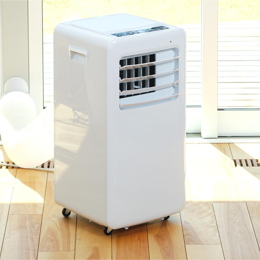 冷風除湿送風の3機能を1台で!エアコンのようにパワフルながら、専用コンセントや穴あけなどの工事不要で... 画像