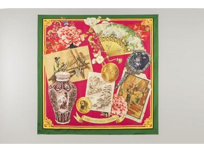 ドルチェ&ガッバーナが1月25日(土)より、中国とイタリアの文化をトリビュートした「シルクロード スカーフ コレクション」を発売!