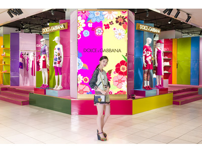 女優 西野七瀬さんがご来場!ドルチェ&ガッバーナが伊勢丹新宿店にて、ポップアップストアを開催。