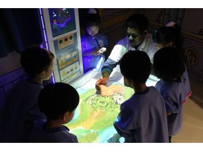 やる気スイッチグループの保育施設が導入!AR砂場「iSandBOX」を日本初導入!