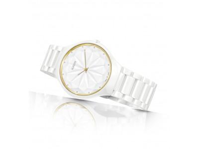 """スイス生まれの時計ブランド ラドーより、デザインコラボレーション限定モデル """"トゥルー シンライン ジェム リミテッド エディション""""が新登場"""