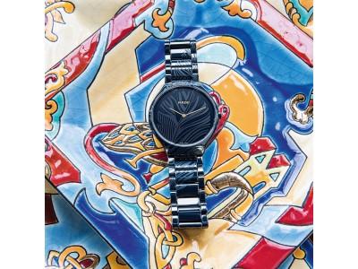 """スイス生まれの時計ブランド ラドーより限定コラボレーションモデル """"トゥルー シンライン マイ バード リミテッド エディション""""が新登場"""