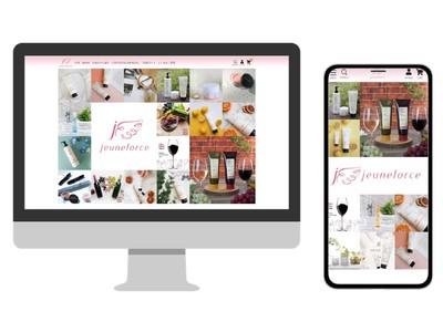 オンラインショッピングをしながらコスメ情報もゲットできる!『jeuneforce by 桃谷順天館 公式オンラインショップ』が12月1日(月)からオープン!
