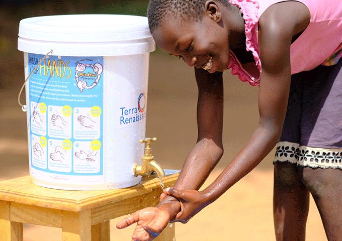 アフリカにおける新型コロナウイルス感染拡大を防ぐため、緊急支援を開始