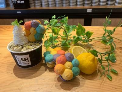 トゥンカロンで話題の「MUUNseoul」と、国内一の店舗数を誇るロールアイス専門店「マンハッタンロールアイスクリーム」がコラボレーション!