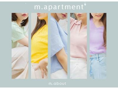 女性向けサービス『MERY』 韓国ファッションECサイト『m.about』ポップアップショップ渋谷パルコD2C体験スペース『no-ma』で開催