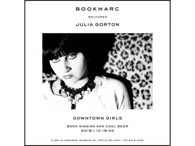 NYパンク~NO WAVEの貴重なシーンをポラロイドカメラで撮り続けたジュリア・ゴートン。彼女の最新ZINEの発売を記念して『BOOKMARC』にてサイン会を開催!
