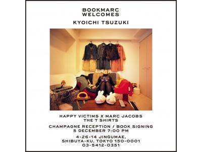 編集者・都築響一の名著「着倒れ方丈記 HAPPY VICTIMS」がマーク ジェイコブスとコラボ!限定T-shirts発売を記念して『BOOKMARC』にてサイン会を開催!
