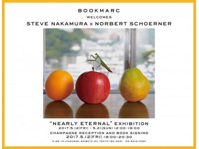 アートディレクターSTEVE NAKAMURAと写真家NORBERT SCHOERNERのコラボレーション!食品サンプルが現実とフェイクを惑わす不思議な作品集と初写真展を『BOOKMARC』にて開催!