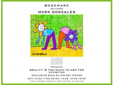 世界で最も愛されているプロスケーターにしてアーティストのマーク・ゴンザレス、今年も再び『BOOKMARC』にてアート作品の即売会を開催!