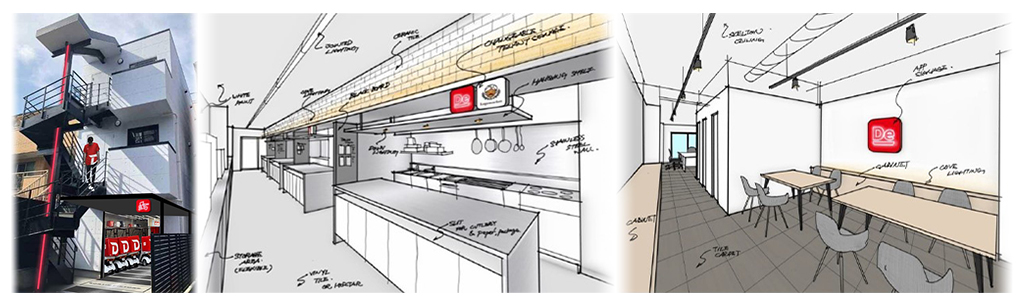 複数クラウドキッチンを併設したデリバリー旗艦拠点を開設