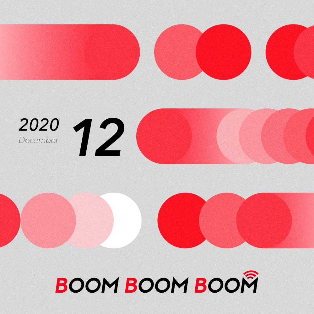 今後の音楽シーンを先取りできる必聴プレイリスト「BOOM BOOM BOOM」の12月プレイリストが公開!