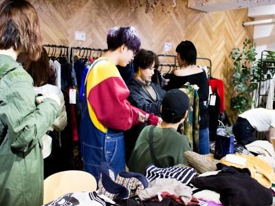 クローゼットに眠る洋服とセンスを発掘できる Open Closet Market開催