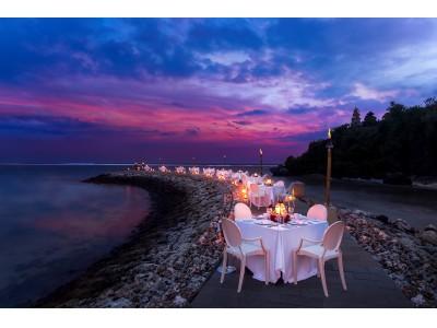 最新ビーチフロント ダイニング『ラ・ラ・ルーン』ザ・ムリア、ムリア リゾート&ヴィラス - ヌサドゥア、バリで満月の夜に楽しむ バリ島ならではのディナーを