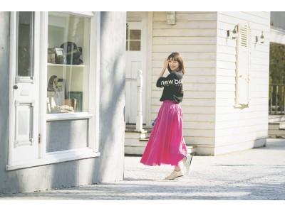 ニューバランスPOPUP STOREをniko and ... TOKYOにオープン5月11日(土)には飯豊まりえさんトークショーを開催