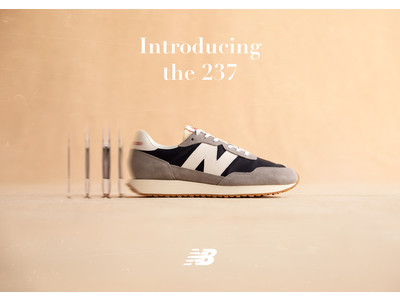 80年代のスタイルをモダンデザインで再構築した「237」 ニューカラーが登場