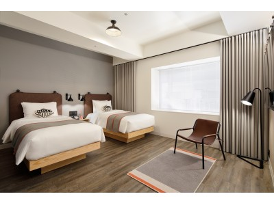 ミレニアル世代の旅行者向けホテル『モクシー・ホテル』とメンズスキンケアブランド『BULK HOMME』がコラボレーション