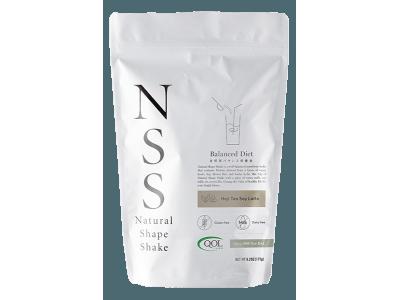 自然派バランス栄養食、朝の1杯でスリムに新ダイエット習慣 「NSS/ナチュラルシェイプシェイク 抹茶ソイラテ味」  新発売