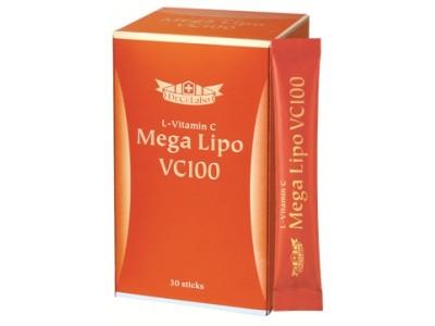"""皮膚の専門家発、高吸収型ビタミンCサプリメント """"リポ化"""" した吸収・持続力抜群のビタミンCを1,000mg配合! """"飲む高濃度ビタミンC"""" 「メガリポVC100」新発売。"""