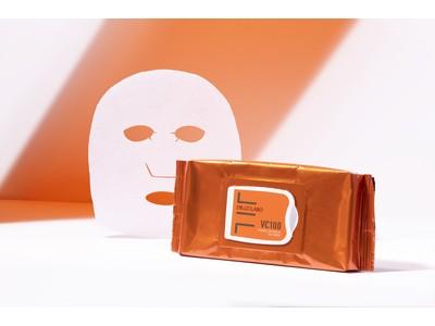 気になる毛穴・くすみ・ハリ・キメ・乾燥の集中ケアに。人気ビタミンC化粧水『VC100 エッセンスローションEX』のシートマスクが新登場