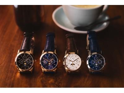 日本製高級クラシック時計「KARL-LEIMON」人気のゴールドモデルで再びMakuakeプロジェクト開始!昨年度Makuake日本製時計部門1位