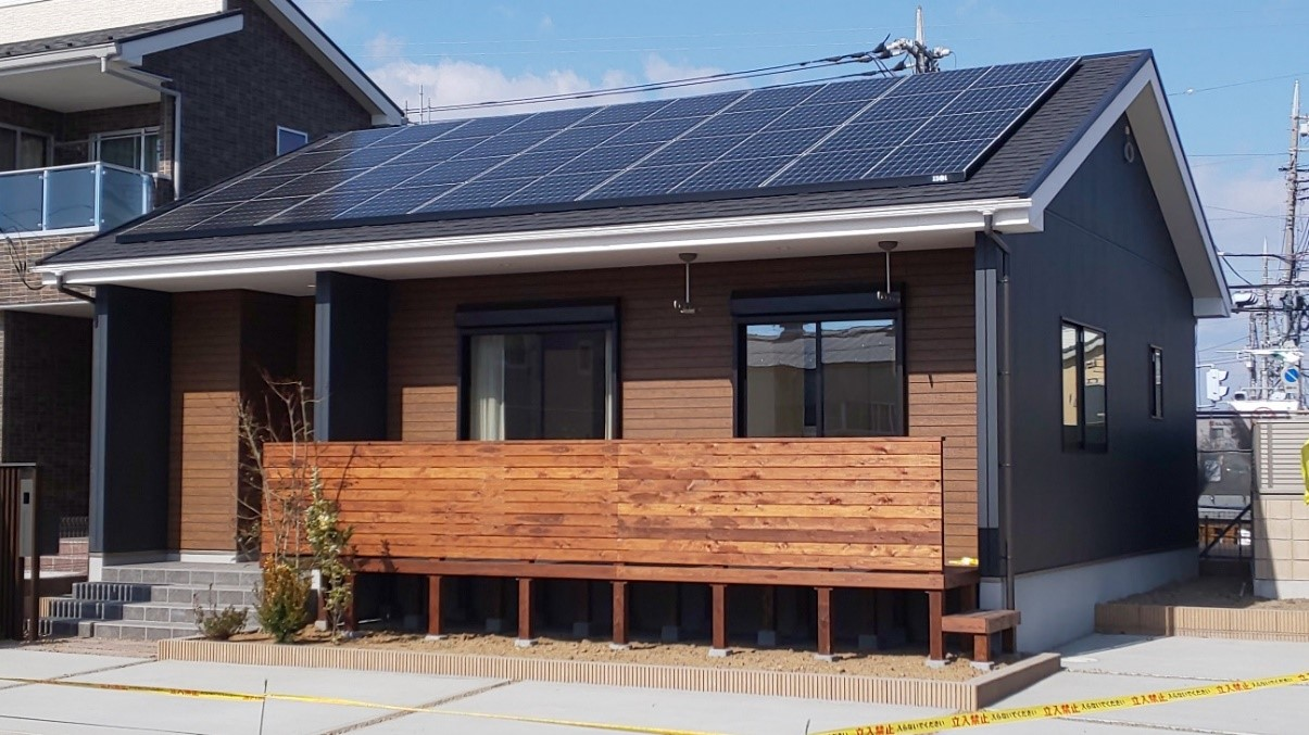 業界初!(※)初期費用ゼロで始める太陽光電力プラン平屋注文住宅「IKI」で誰もが脱炭素に貢献できる社会を目指す
