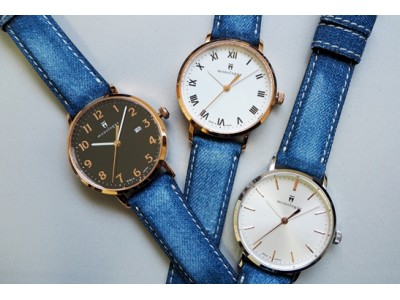 時計職人がインスタグラマーとコラボレーション。わがままを叶えた世界に一つだけのダメージデニムウォッチが誕生
