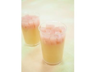 これからの暑い季節に爽やかな味わいを!みずみずしい白桃の和スイーツ2種類を販売致します。