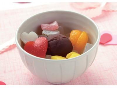 """今年のバレンタインは""""和菓子""""で差をつけよう!「ショコラあんみつ」を2月2日(日)より期間限定で販売いたします。"""