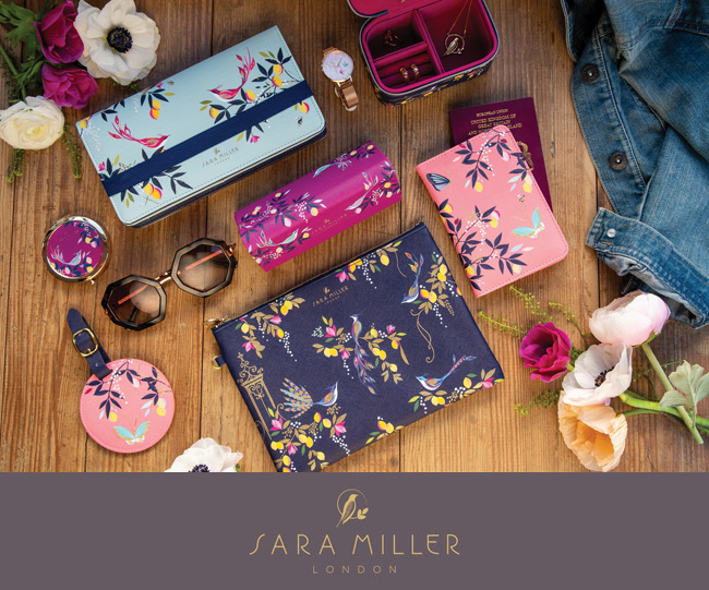 英国デザイナー『サラミラーロンドン(SARA MILLER LONDON)』 ステーショナリーラインのスプリングコレクション発売 (西武池袋本店 そごう横浜 ジェイアール名古屋タカシマヤ)