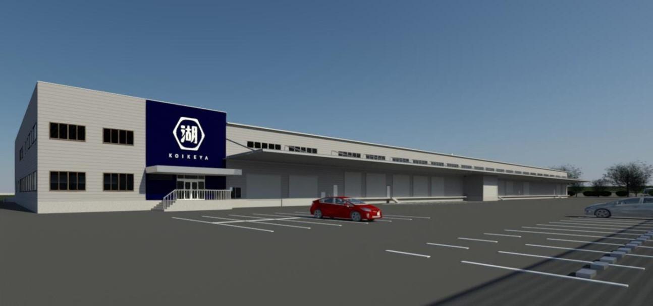 2021年7月開業「九州阿蘇工場」(熊本県益城町)湖池屋として初の九州の生産拠点