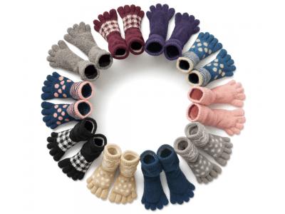 【DHCインナーウェア】手袋屋さんと一緒に作った『香川産もこもこ5本指ソフトソックス』を新発売