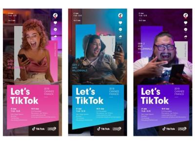 世界最大級の広告・クリエイティブの祭典「カンヌライオンズ2019」 メインステージで TikTok が世界に向けてプレゼンテーション