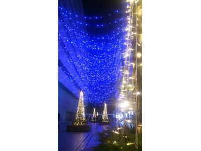 「はまテラス」初となるクリスマスイルミネーション『横浜駅東口 星降るテラス ~星に願いを~』本日よりイルミネーションをバージョンアップ!!