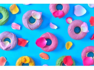 渋谷スクランブルスクエアにエディブルフラワーを使ったヴィーガンスイーツ「美ドーナツ」登場 食べられる花屋EDIBLE GARDENとプラントベーススイーツ専門店のUPBEET!がコラボレーション