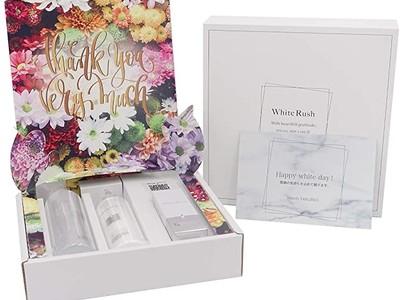 ホワイトデーにピッタリな【アマゾン限定】美白スキンケアBOXを発売致しました。バレンタインのお返しにぜひ!