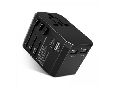 【本日開始】海外旅行の充電器を極限に減らせる!MacBookも充電できる最大30W出力USB-Cポート搭載のトラベルアダプターMighty Go(マイティーゴー)
