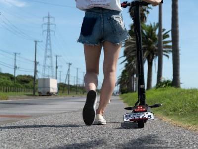 クラウドファンディング2000万達成間近!令和の移動革命!公道を走れる電動キックボード「Kintone α GO」