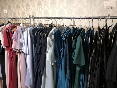 ロング丈・袖付・パンツドレスの専用コーナーを設置!Empty Dressyが2/25(月)にリニューアルオープン!